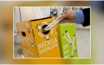 ENSE Conil es punto de reciclaje de lámparas y luminarias asociado a Ambilamp