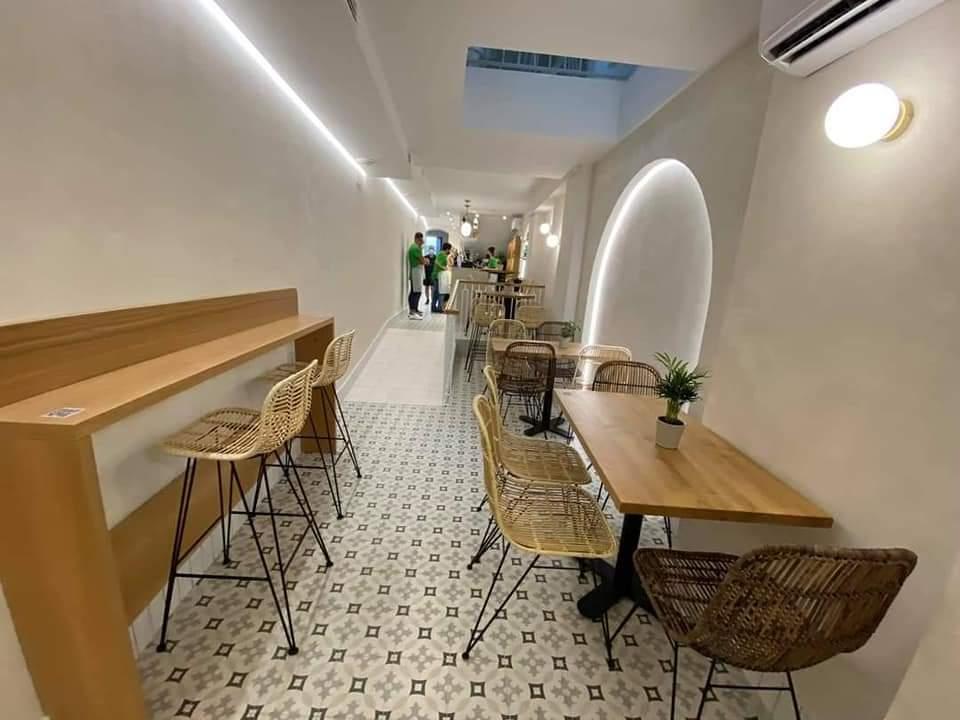 Pasillo restaurante maqueca conil