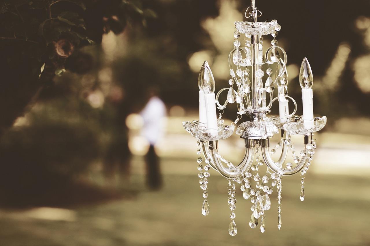 Venta y exposición de lámparas, luminarias, bombillas, focos, proyectores