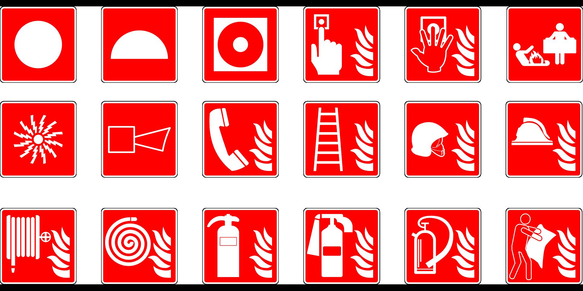 Tienda de extintores, BIE, señales luminiscentes, detectores y demás sistemas contra incendios